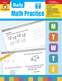 Math Practice, Math Review Supplies, Item Number 068077