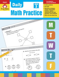 Math Practice, Math Review Supplies, Item Number 068078