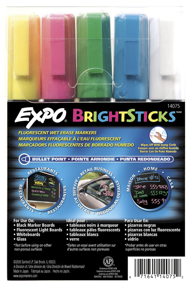 Dry Erase Markers, Item Number 802424