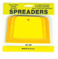 Blair Spreader, 4, 5, 6 in, Plastic, Yellow Item Number