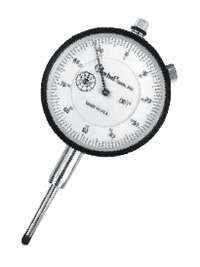 Central Dial Indicator, 0 - 1 in, 0.001 in Graduation Item Number