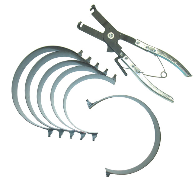 Cal Van Tools Piston Ring Set for Compressor, 2-7/8 - 4-3/8 in