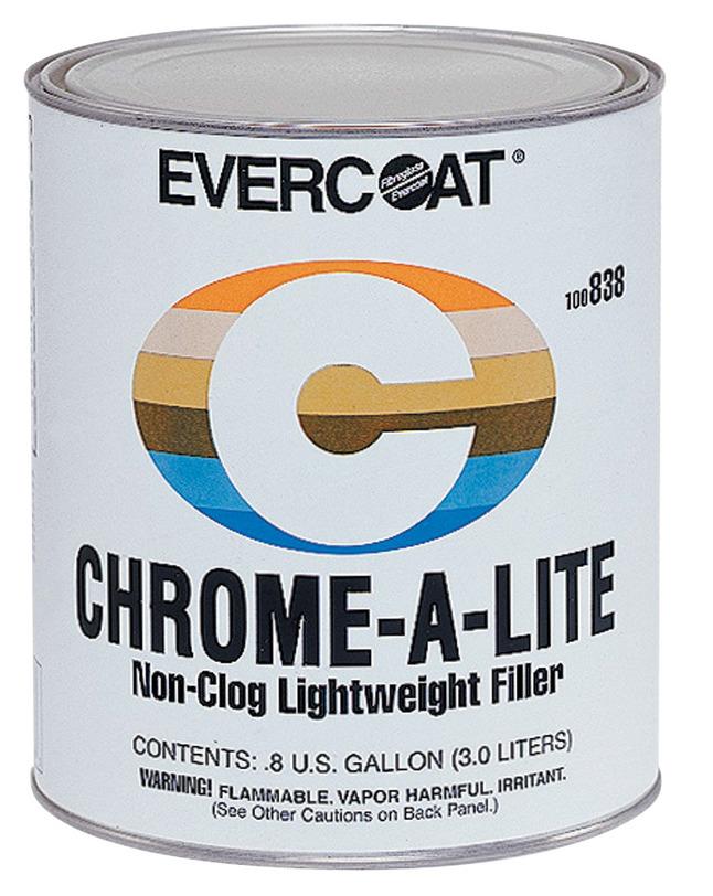 Fibreglass Evercoat Chrome-A-Lite Light-Weight Body Filler, 1 gal, Gold