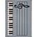 Gray w/Piano Keys