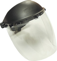 SAS Deluxe Faceshield with Polycarbonate Lens, Clear Item Number