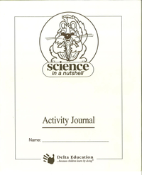 Image for Delta Science in a Nutshell Fossil Formations Student Journal, Pack of 5 from School Specialty