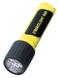 Streamlight 4AA ProPolymer LED Flash Light, 6-1/2 Inches, Yellow/Black Item Number