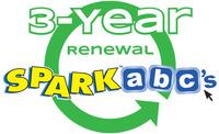 SPARKabc's 3-Year Membership Renewal Item Number