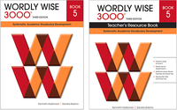 Wordly Wise 3000 Classroom Set and Teacher's Edition, Grade 5, Set of 26 Books Item Number