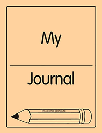 EPS My Journal, Blank, Grades 1 to 2 Item Number 9780838862681