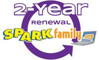 SPARKfamily.org 2-Year Membership Renewal Item Number
