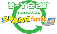 Image for SPARKfamily.org 3-Year Membership Renewal from School Specialty