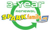SPARKfamily.org 3-Year Membership Renewal Item Number